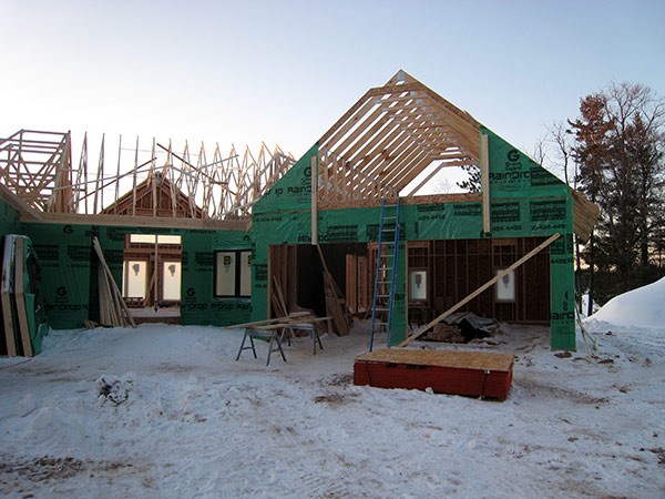 The model home blog at clearwater lake for Bonus room truss design